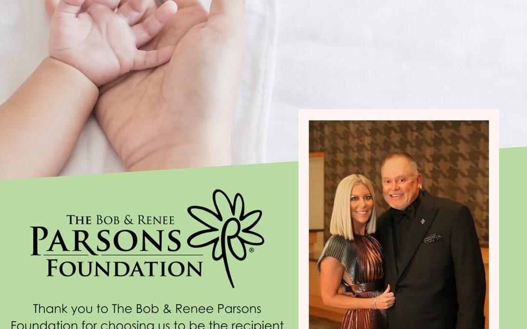 The Bob and Renee Parsons Foundation Awards Grant to Hushabye Nursery